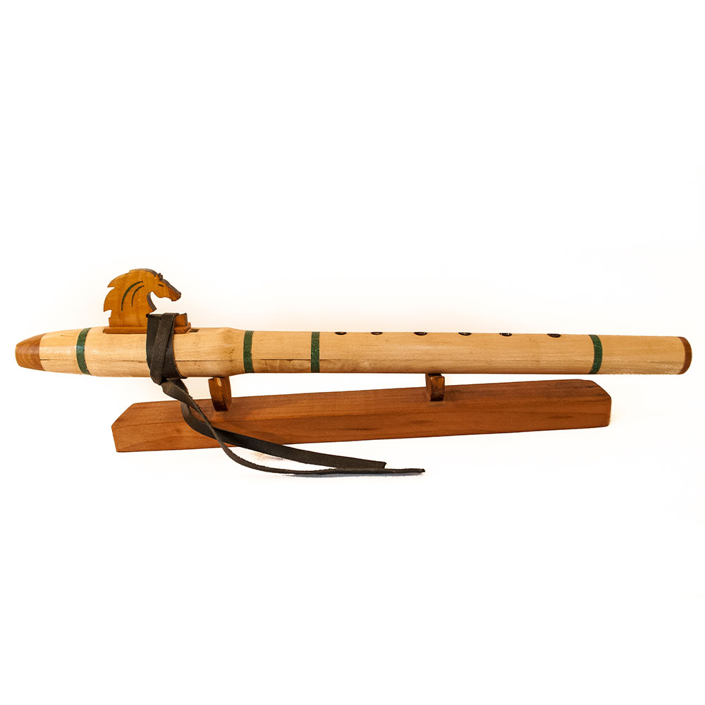 Flauta nativa americana Caballo maple A