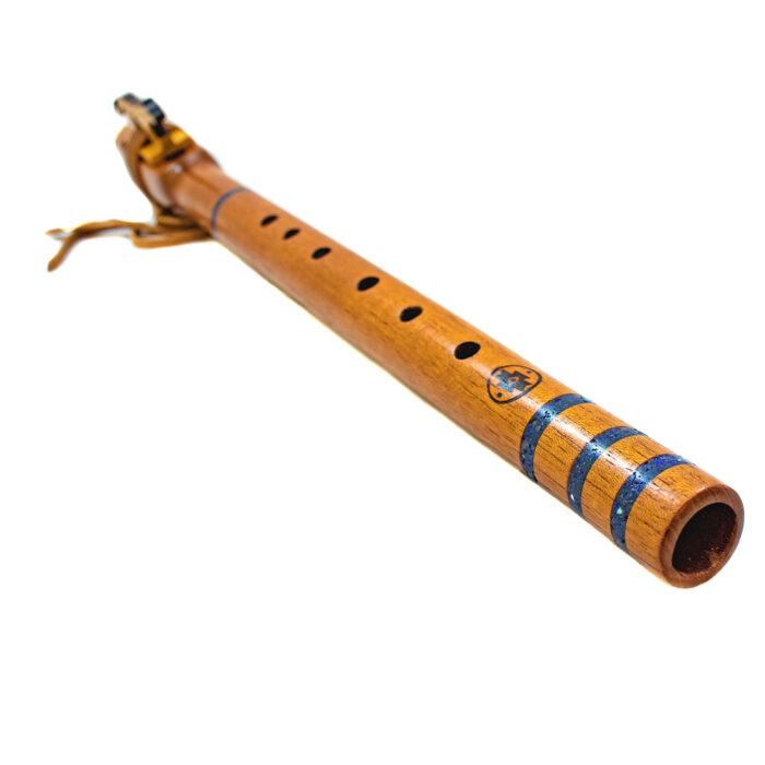 Flauta nativa americana Jaguar caoba F