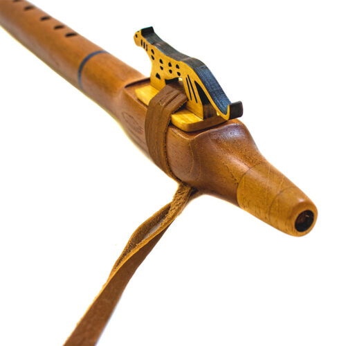 flauta nativo-americana de autor tono F