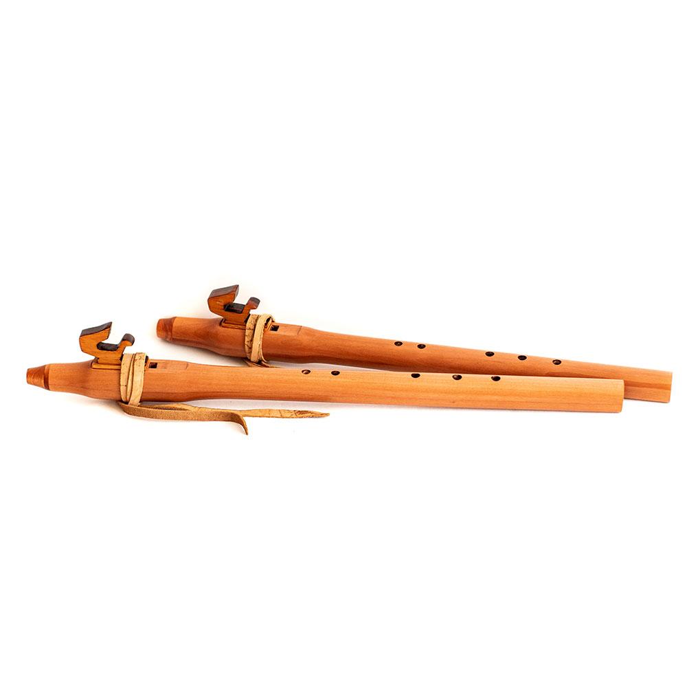 Flauta nativa americana aprendiz Rauli 3