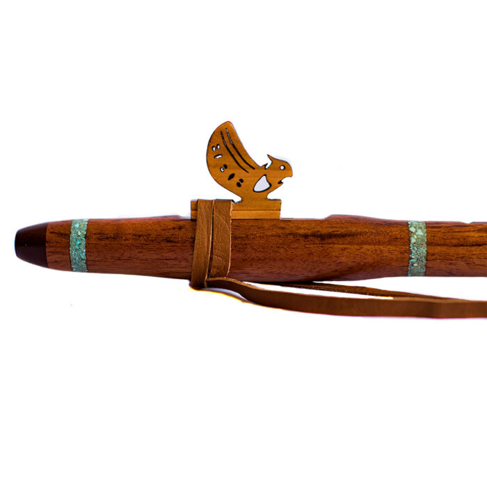 Flauta nativa americana bhuo caoba A