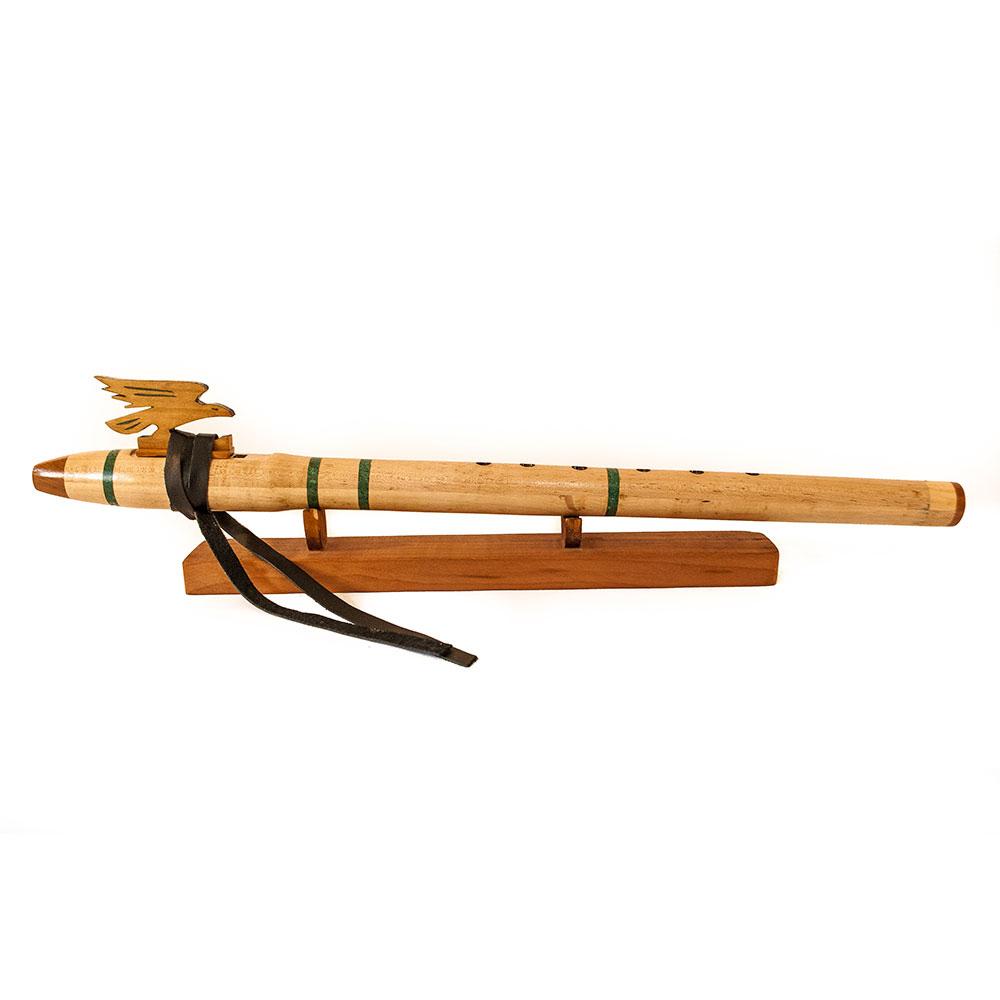 Flauta nativa americana cernicalo maple E