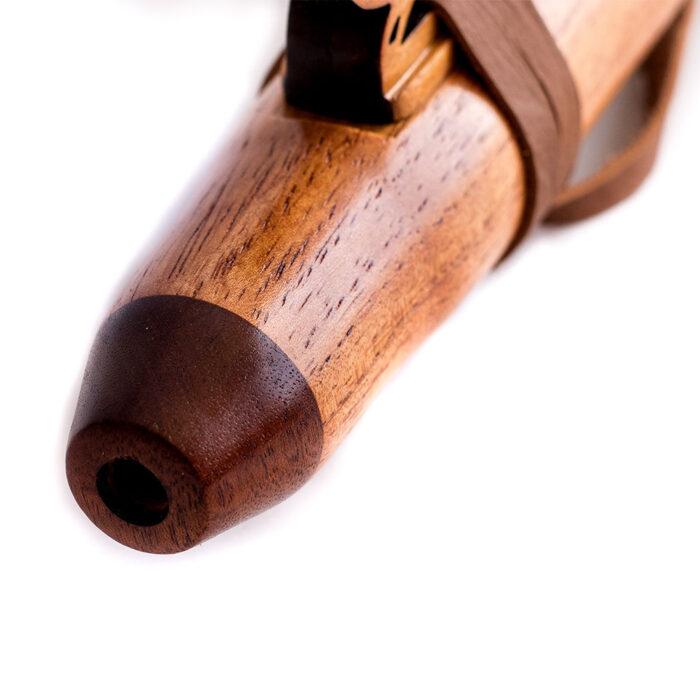 Flauta nativa americana mangosta cedro D