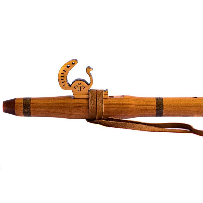 Flauta nativa americana pavo real Rauli G