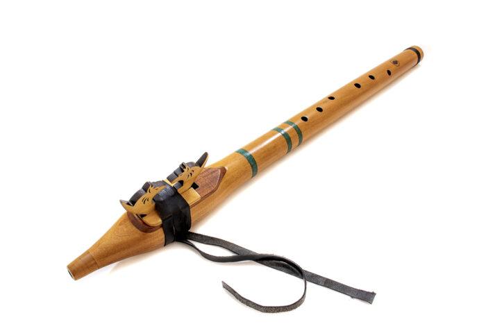 flauta nativa americana tono d